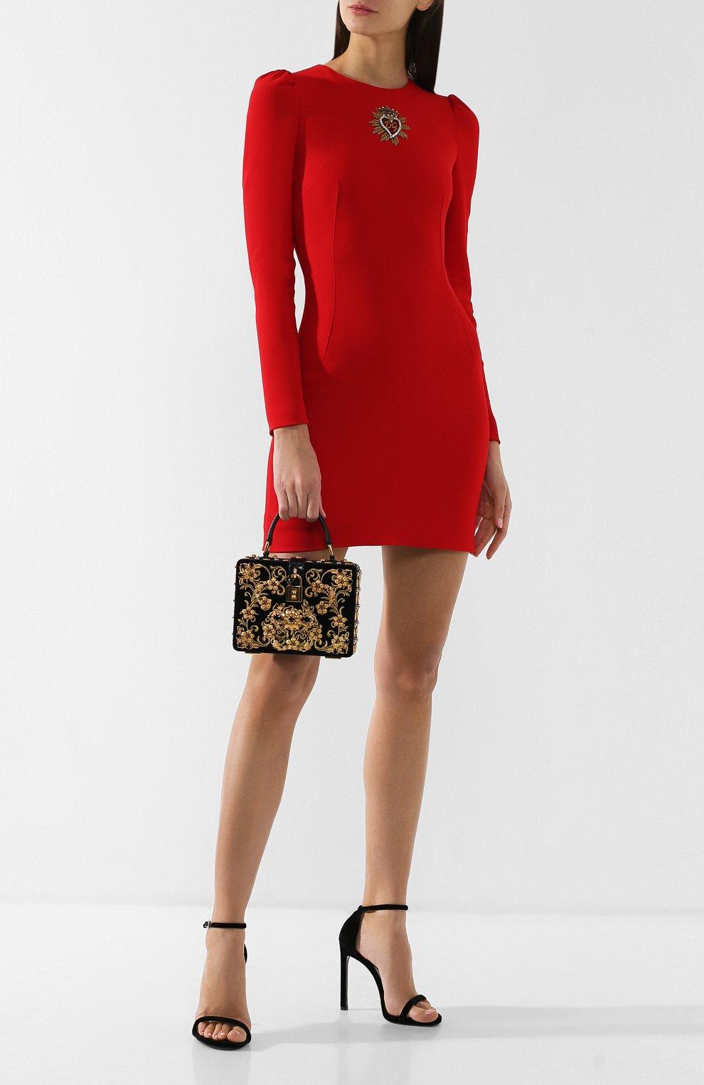 Сумка Dolce Box Dolce & Gabbana черного цвета   Фото №2