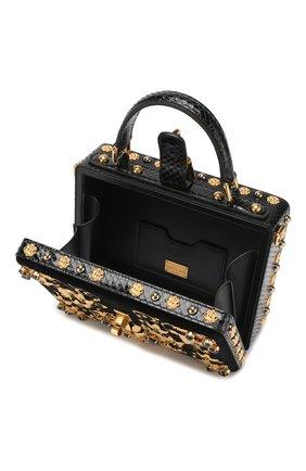 Сумка Dolce Box Dolce & Gabbana черного цвета   Фото №4