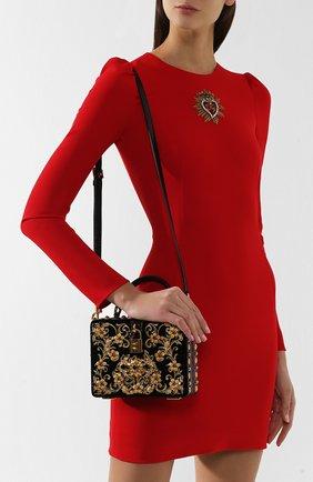 Сумка Dolce Box Dolce & Gabbana черного цвета   Фото №5