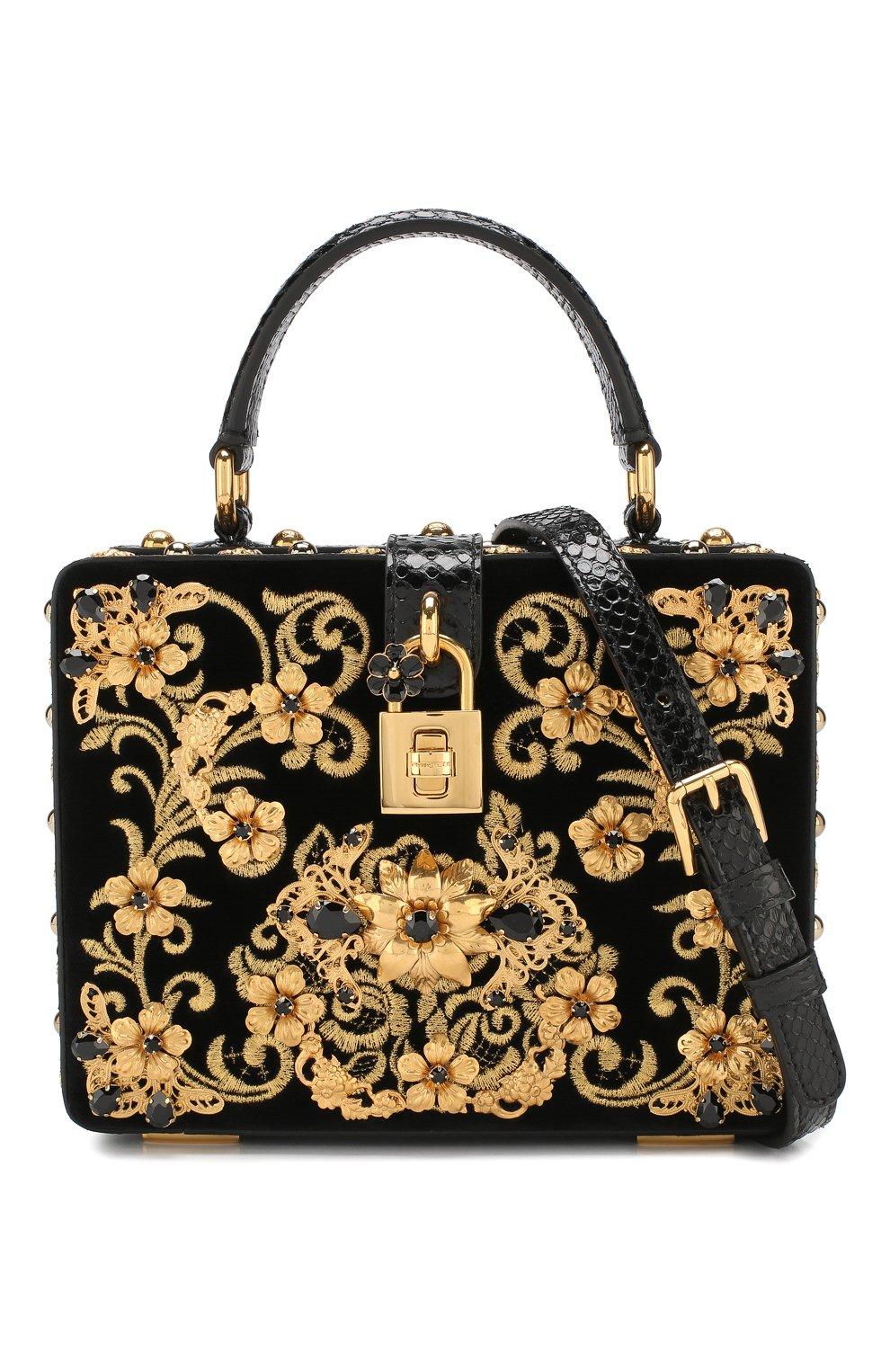 Сумка Dolce Box Dolce & Gabbana черного цвета   Фото №6