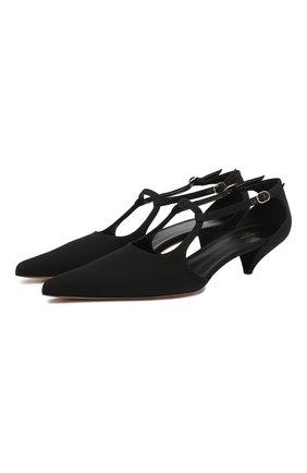 Замшевые туфли Bourgeoise  | Фото №1