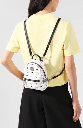 Женский рюкзак stark micro MCM белого цвета, арт. MMK 6SVE92 | Фото 2