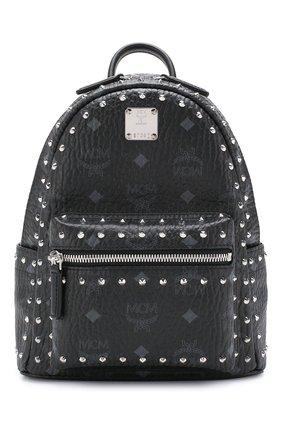 Женский рюкзак stark mini MCM черного цвета, арт. MMK 8AVE62 | Фото 1