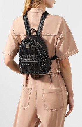 Женский рюкзак stark mini MCM черного цвета, арт. MMK 8AVE62 | Фото 2