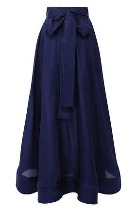 Шелковая юбка-макси | Фото №1