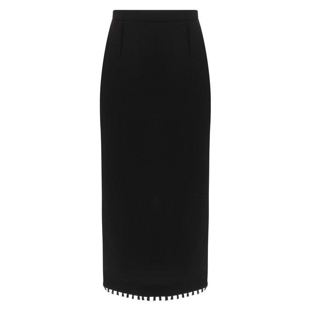 Шерстяная юбка-карандаш Roland Mouret