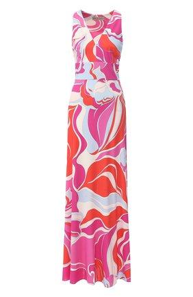 Платье-макси с поясом | Фото №1
