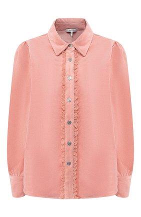 Вельветовая блузка | Фото №1