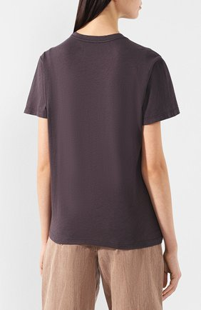 Хлопковая футболка Isabel Marant Etoile черная   Фото №4