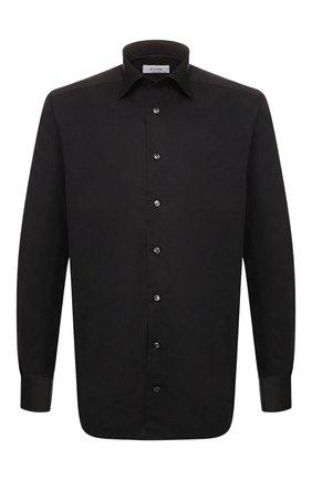 Мужская хлопковая сорочка с воротником кент ETON черного цвета, арт. 3548 79311 | Фото 1