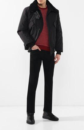 Мужские джинсы прямого кроя PAIGE черного цвета, арт. M657521-2139 | Фото 2
