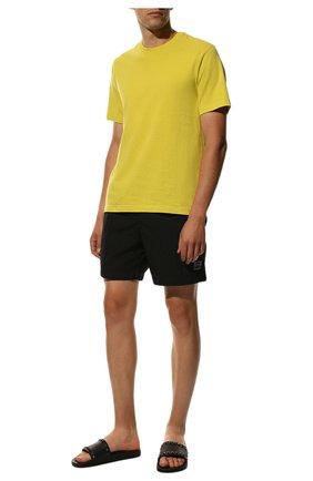Мужские шлепанцы rockstud VALENTINO черного цвета, арт. RY2S0873/JGC   Фото 2 (Материал внутренний: Текстиль; Материал внешний: Резина)