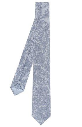Мужской комплект из галстука и платка BRIONI голубого цвета, арт. 08A900/P841N   Фото 2