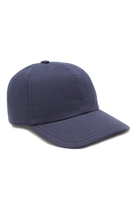 Мужской хлопковая бейсболка BRIONI темно-синего цвета, арт. 04700L/P8056 | Фото 1
