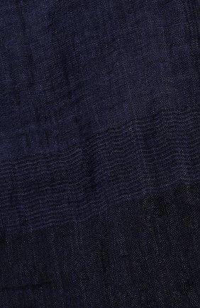 Шарф из смеси льна и шелка   Фото №2