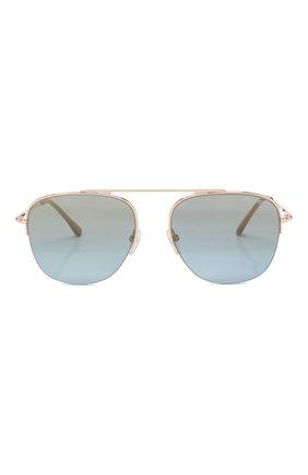 Мужские солнцезащитные очки TOM FORD золотого цвета, арт. TF667 | Фото 2