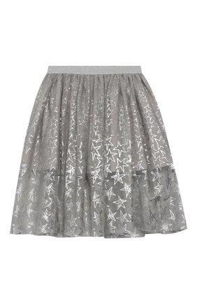 Хлопковая юбка-миди | Фото №1