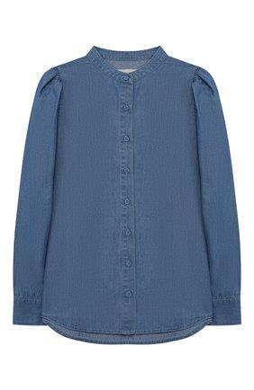 Блузка из хлопка и вискозы | Фото №1