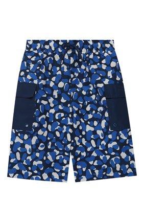 Детские плавки-шорты STELLA MCCARTNEY синего цвета, арт. 539948/SMK02 | Фото 1