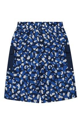 Детские плавки-шорты STELLA MCCARTNEY синего цвета, арт. 539948/SMK02 | Фото 2