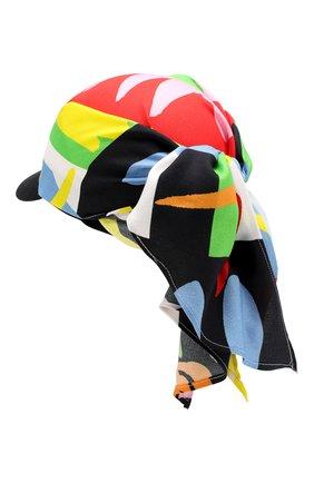 Кепка из вискозы Stella McCartney разноцветного цвета | Фото №2
