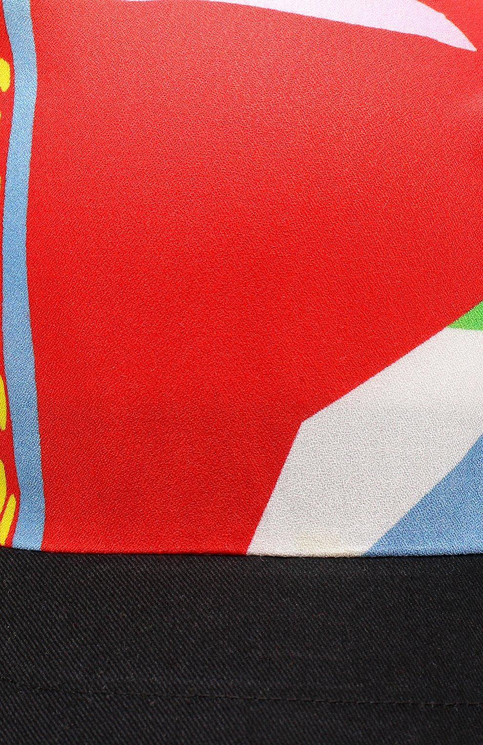 Кепка из вискозы Stella McCartney разноцветного цвета | Фото №3