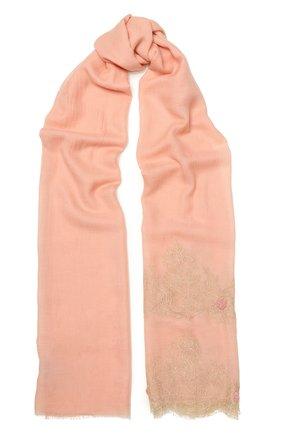 Шерстяной шарф с декоративной отделкой | Фото №1