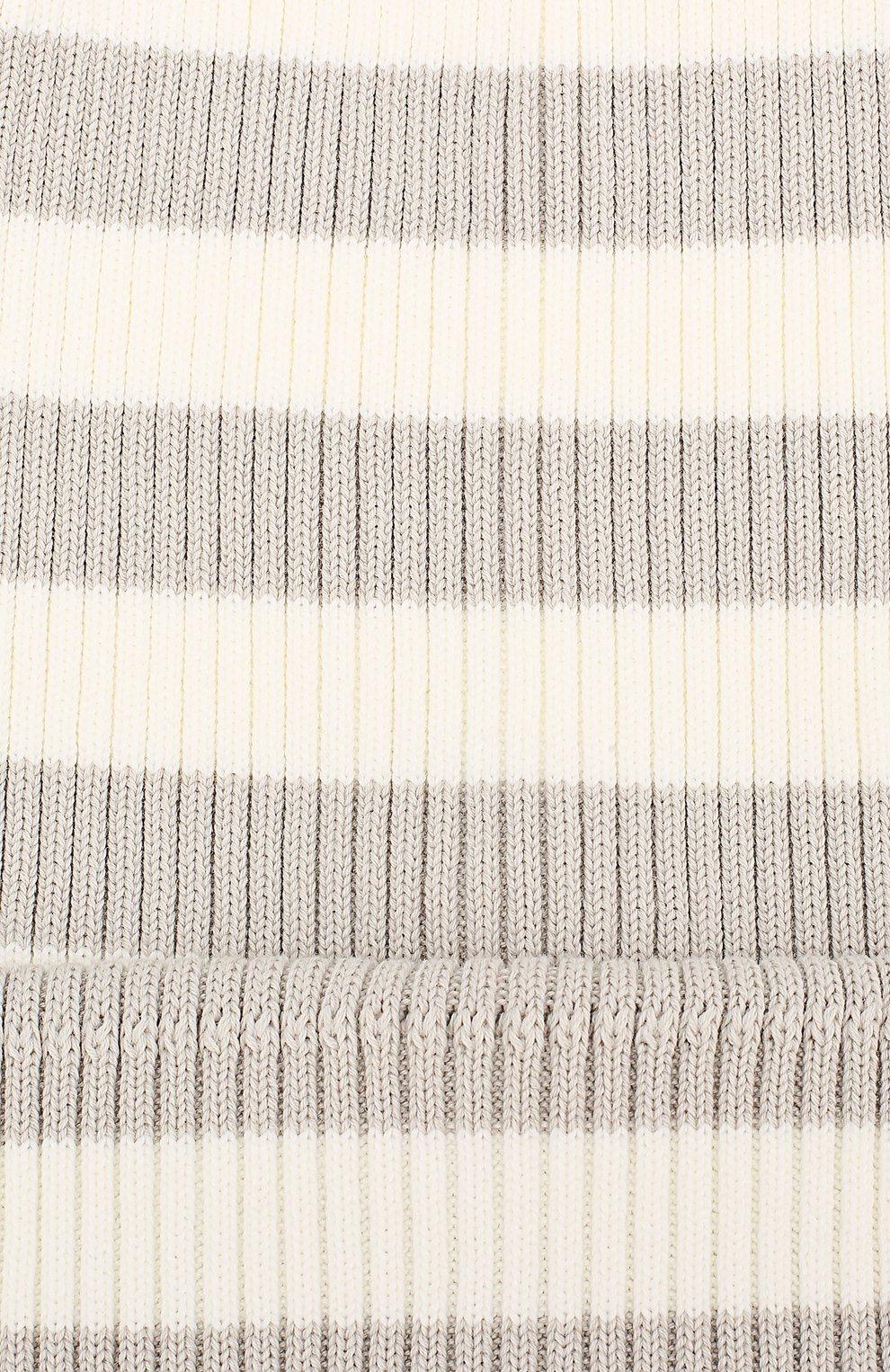 Хлопковая шапка Marc Jacobs белого цвета | Фото №3