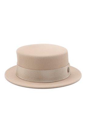 Фетровая шляпа Auguste с лентой | Фото №1