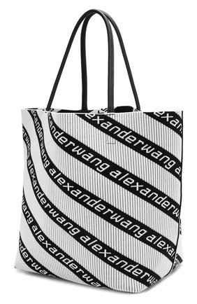 Сумка Roxy  Alexander Wang черно-белая цвета | Фото №3