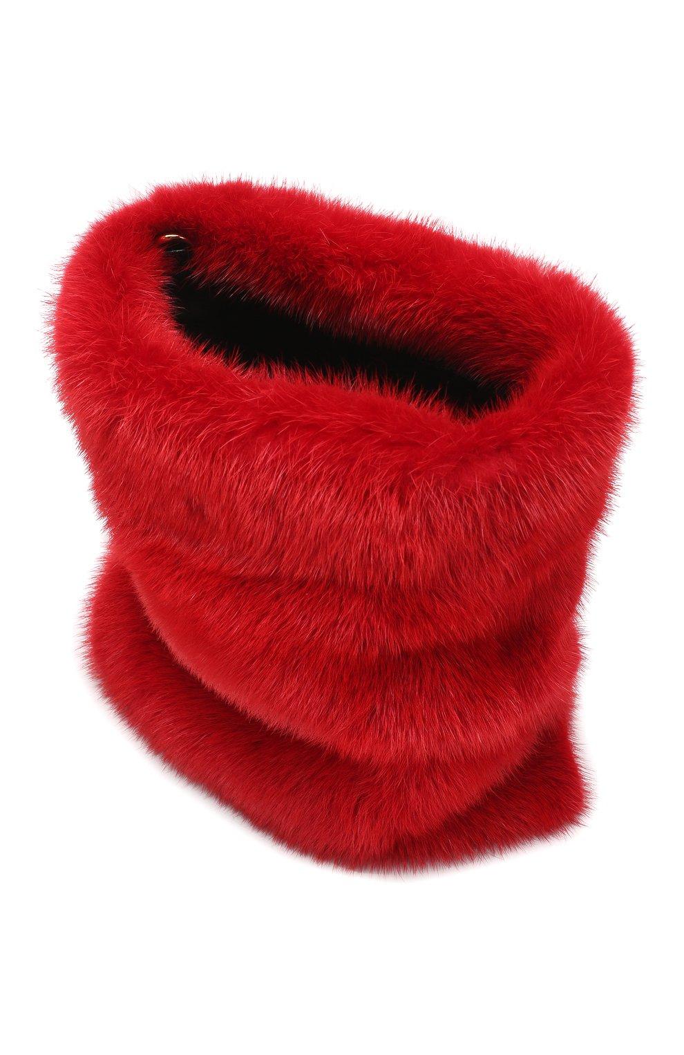 Горнолыжная маска Dolce & Gabbana красные | Фото №4