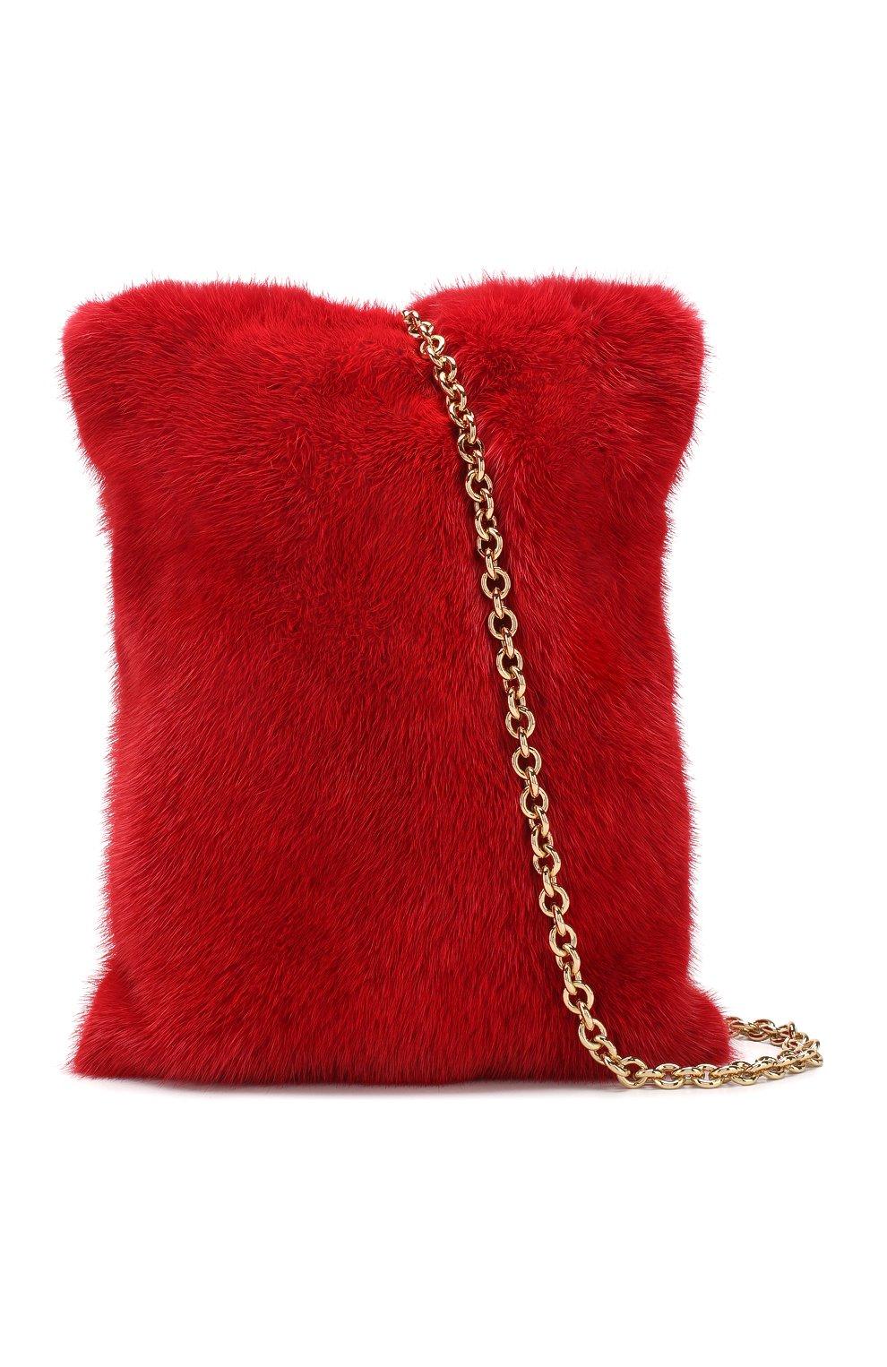 Горнолыжная маска Dolce & Gabbana красные | Фото №5