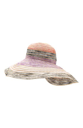 Соломенная шляпа Missoni разноцветного цвета | Фото №2