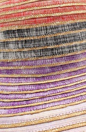 Соломенная шляпа Missoni разноцветного цвета | Фото №3