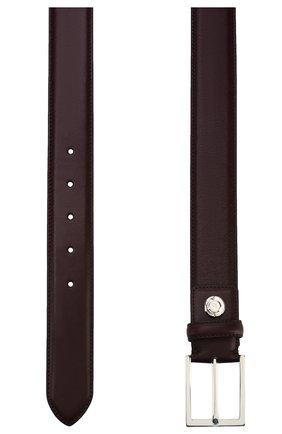 Мужской кожаный ремень  BRIONI бордового цвета, арт. 0BZ60L/07710 | Фото 2