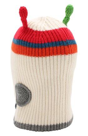 Кашемировая шапка-балаклава Burberry разноцветного цвета | Фото №2
