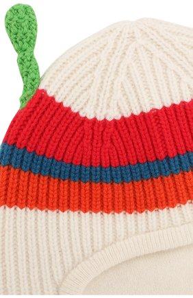 Кашемировая шапка-балаклава Burberry разноцветного цвета | Фото №3