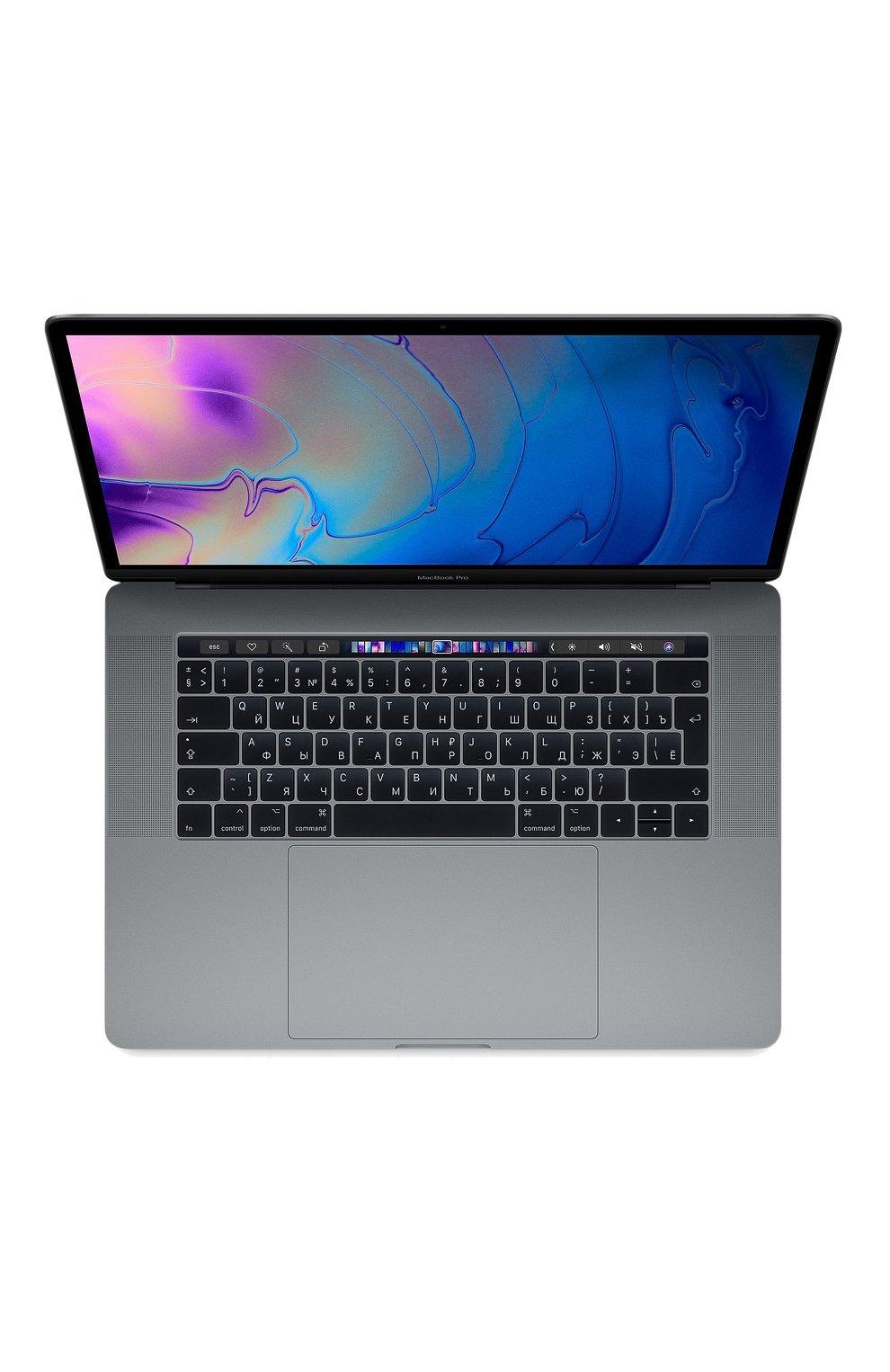 "MacBook Pro 15"" с панелью Touch Bar со встроенным датчиком Touch ID 6-Core i7 2.2GHz 256GB Space Gray | Фото №1"