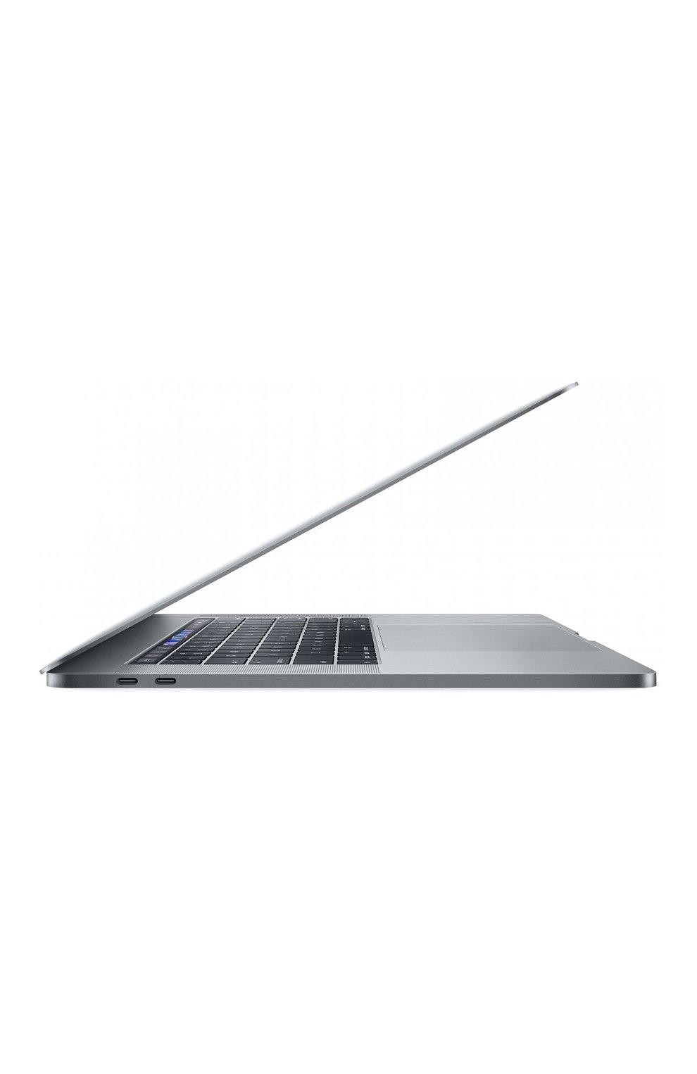"MacBook Pro 15"" с панелью Touch Bar со встроенным датчиком Touch ID 6-Core i7 2.2GHz 256GB Space Gray Apple  | Фото №2"