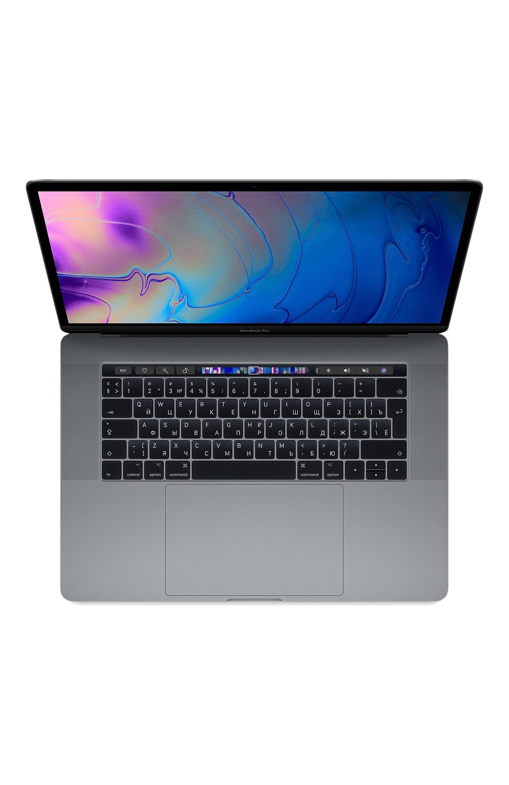 "MacBook Pro 15"" с панелью Touch Bar со встроенным датчиком Touch ID 6-Core i7 2.6GHz 512GB Space Gray | Фото №1"