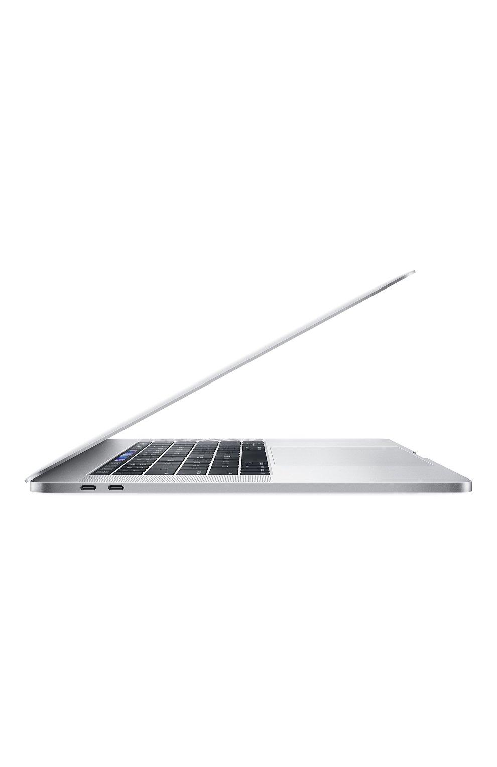 "MacBook Pro 15"" с панелью Touch Bar со встроенным датчиком Touch ID 6-Core i7 2.6GHz 512GB Silver Apple    Фото №2"