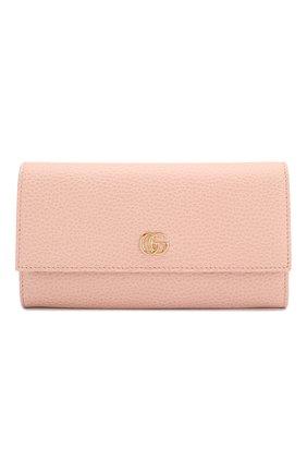 Кожаный кошелек GG Marmont   Фото №1