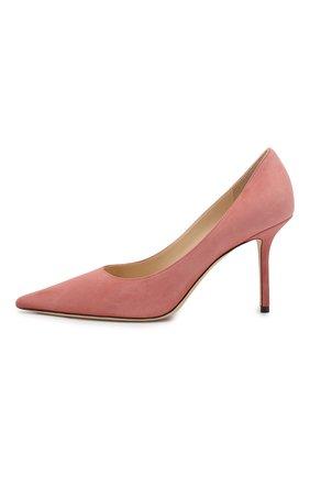 Замшевые туфли Love 85   Фото №3