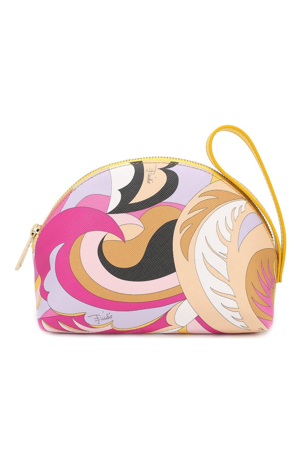 Косметичка с принтом Emilio Pucci разноцветная | Фото №1