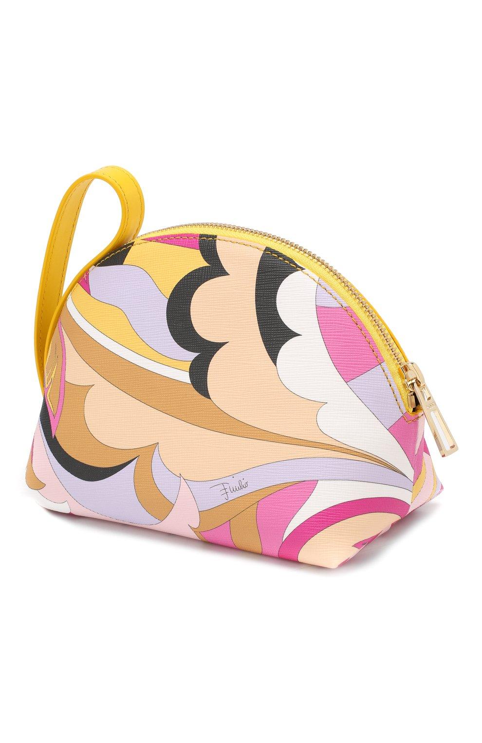 Косметичка с принтом Emilio Pucci разноцветная | Фото №2