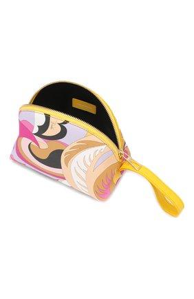 Косметичка с принтом Emilio Pucci разноцветная | Фото №3