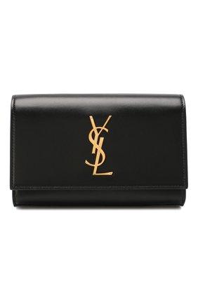 Женская поясная сумка monogram kate SAINT LAURENT черного цвета, арт. 534395/DV70J | Фото 1
