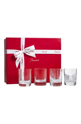 Набор из 4-x стаканов для виски 4 elements №2 BACCARAT прозрачного цвета, арт. 2 812 728   Фото 1