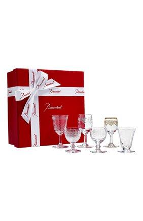 Мужского набор из 6-ти бокалов verres bijoux №6 BACCARAT прозрачного цвета, арт. 2 812 378 | Фото 1