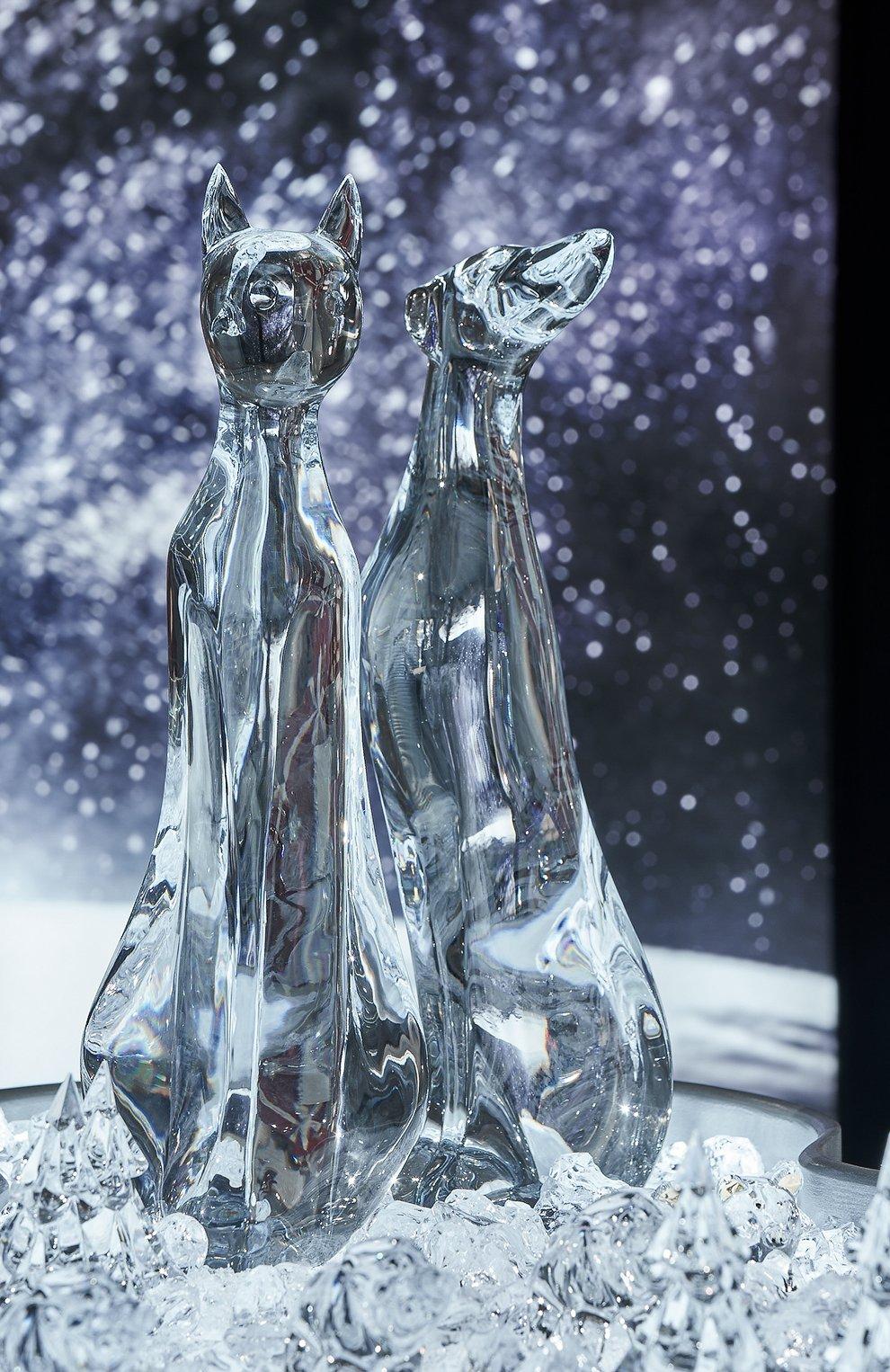 Мужского скульптура борзая rigot BACCARAT прозрачного цвета, арт. 1 764 451 | Фото 2
